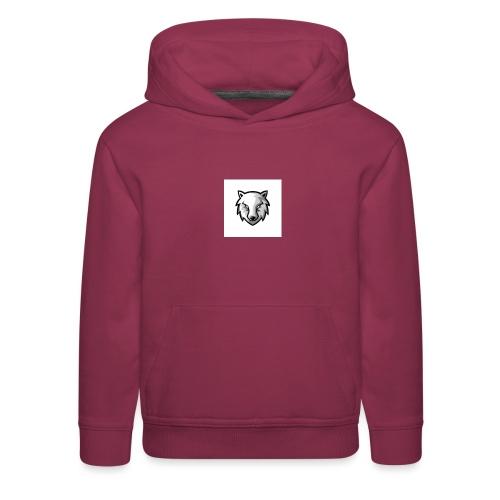 new wolf hoodie - Kids' Premium Hoodie