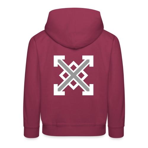 zegat1ve White - Kids' Premium Hoodie