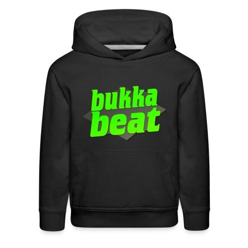 Bukka Beat Logo ( bukkabeat.com ) - Kids' Premium Hoodie