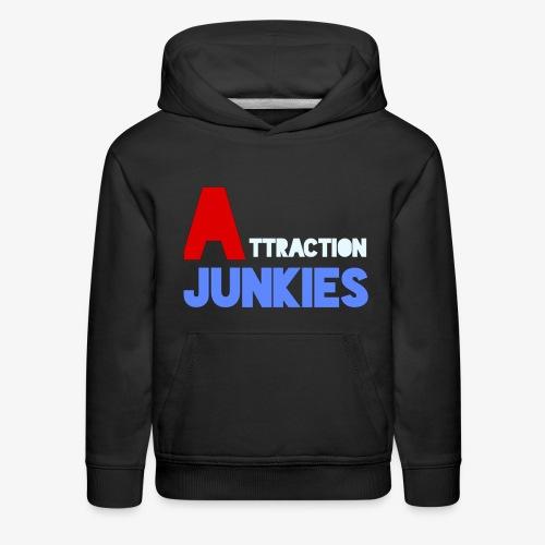 Attraction Junkies Merch - Kids' Premium Hoodie