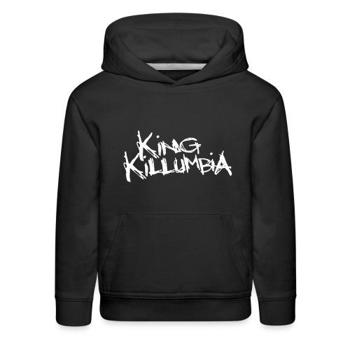 King Killumbia White Logo - Kids' Premium Hoodie