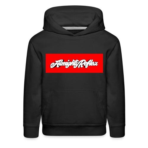 Almightyreflex logo - Kids' Premium Hoodie