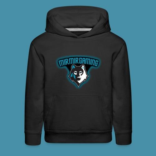 mirmirgaming shirt with logo - Kids' Premium Hoodie