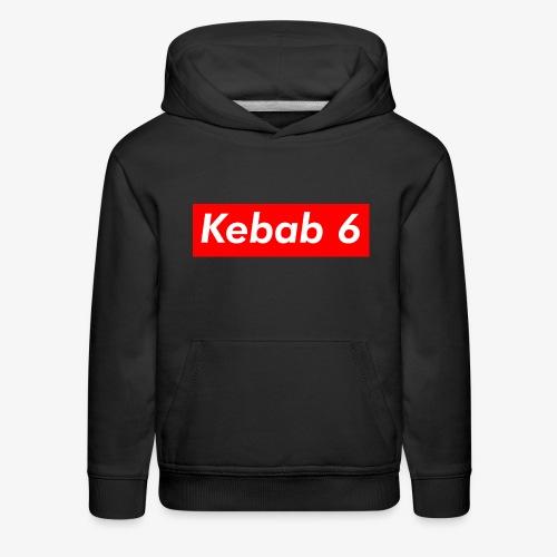 Kebab 6 box logo - Kids' Premium Hoodie