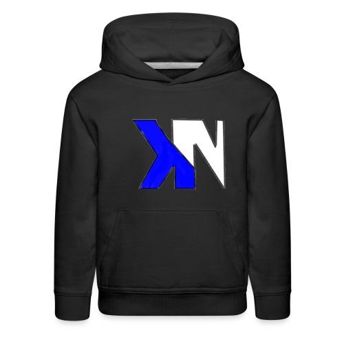 KN Black Hoodie - Kids' Premium Hoodie