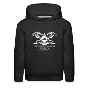 White Game Development Guild Crest - Kids' Premium Hoodie
