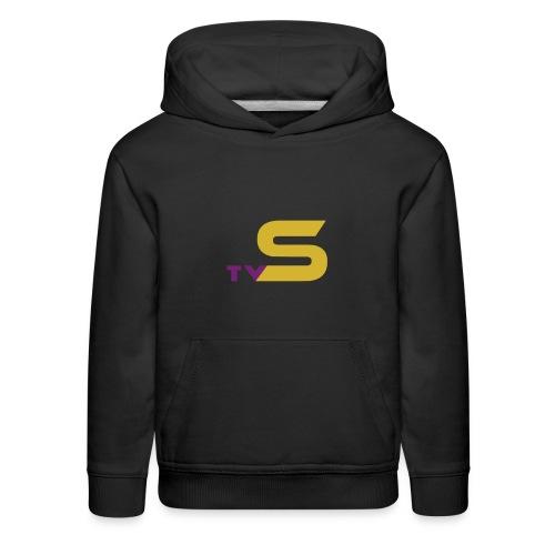 SandsTV logo - Kids' Premium Hoodie