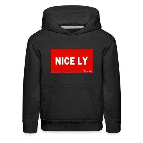 NICE LY - Kids' Premium Hoodie