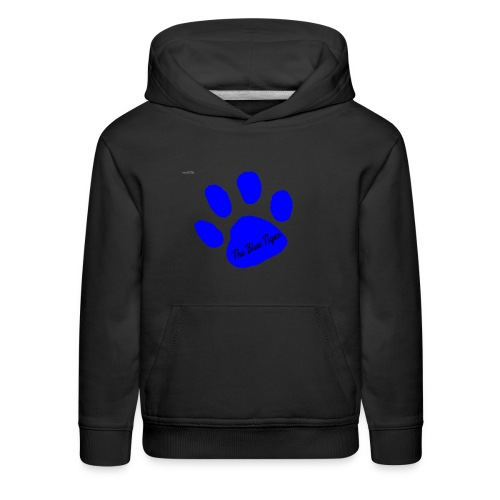 Signed Print from The Blue Tiger - Kids' Premium Hoodie