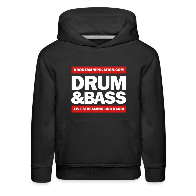 Drum and Bass - Kids' Premium Hoodie