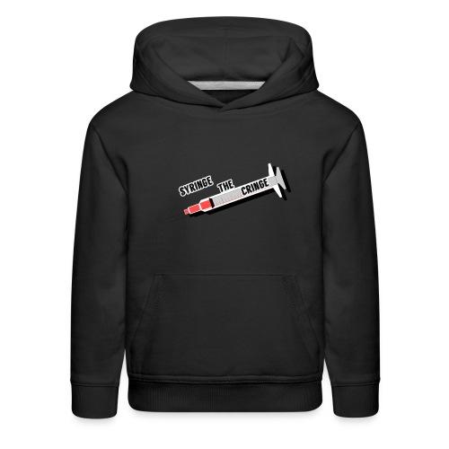 syringe the cringe - Kids' Premium Hoodie