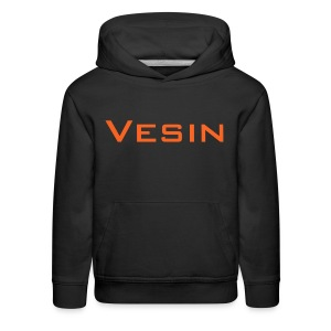 Vesin_playZ text design - Kids' Premium Hoodie