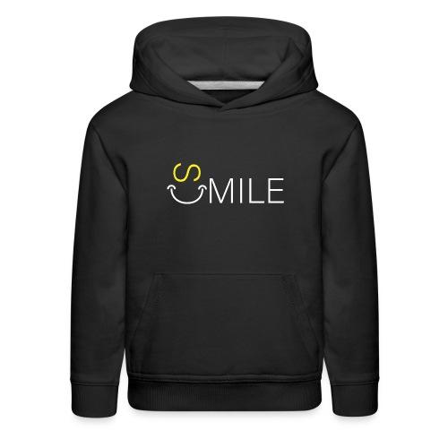 SMILE 7 - Kids' Premium Hoodie