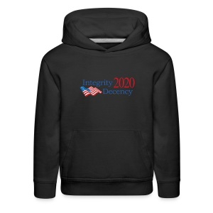 Vote for real American values! - Kids' Premium Hoodie