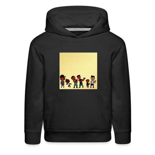 J squad golden legacy - Kids' Premium Hoodie