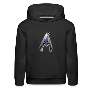 Avoh Black and white King edition - Kids' Premium Hoodie
