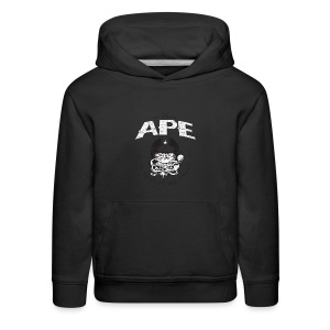 The_Two_Wheeled_Ape_Full_Throttle - Kids' Premium Hoodie