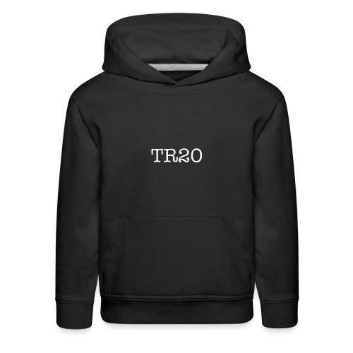 TR20 (white) - Kids' Premium Hoodie