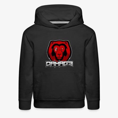 Damag3-Borderless - Kids' Premium Hoodie
