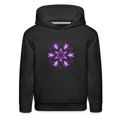 Cosmic Crown Chakra - Kids' Premium Hoodie