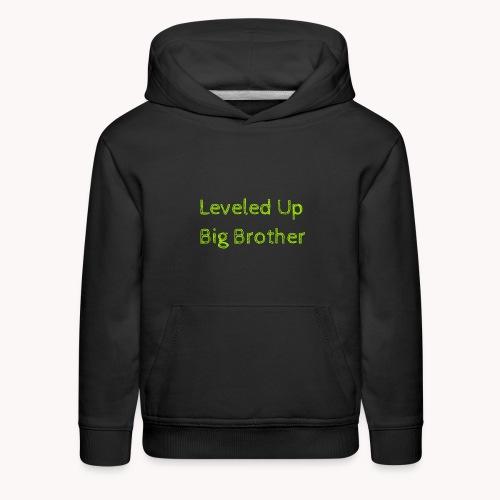 Leveled Up - Kids' Premium Hoodie