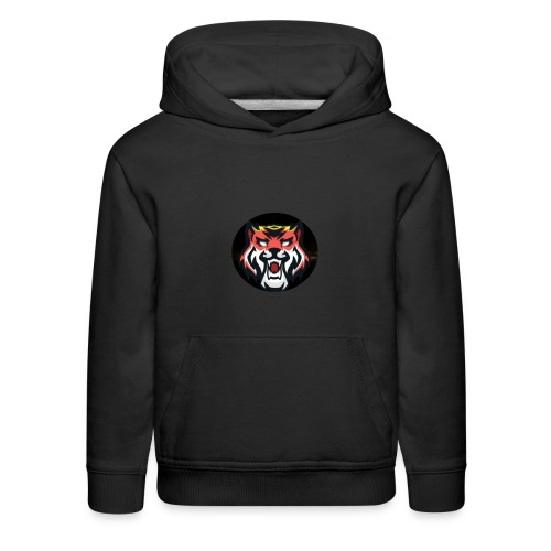 Tiger Playz merch - Kids' Premium Hoodie