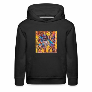 Welcome Abstract - Kids' Premium Hoodie