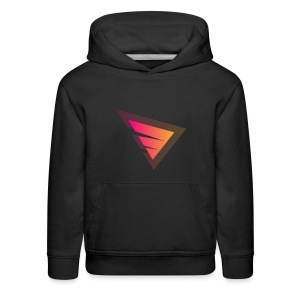 Logo IteX with another background logo - Kids' Premium Hoodie