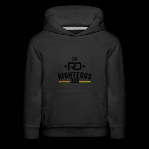 Righteous Dub Logo - Kids' Premium Hoodie