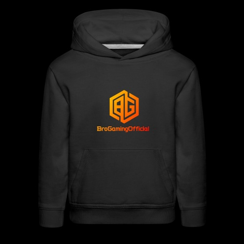 BroGamingOfficial Merch 2 - Kids' Premium Hoodie