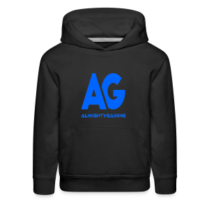 AlmightyGaming (Blue Edition!) - Kids' Premium Hoodie