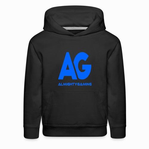 AlmightyGaming (Blue Edition!) - Kids' Premium Hoodie