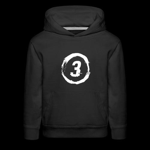 3 Circle Logo - Kids' Premium Hoodie