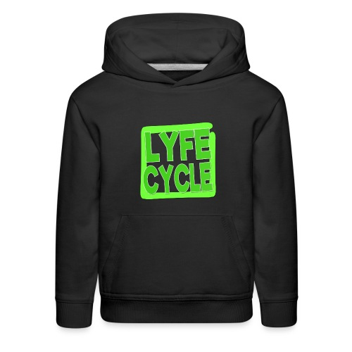 LYFECYCLE SQUARE - Kids' Premium Hoodie