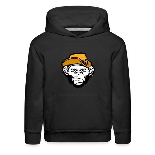 bad monkey face - Kids' Premium Hoodie
