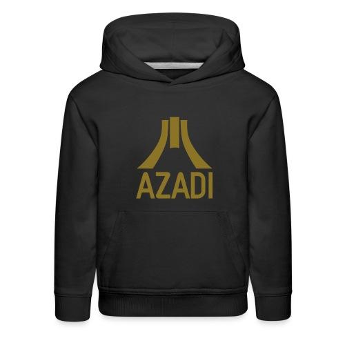 Azadi retro stripes - Kids' Premium Hoodie