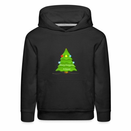 Merry Christmas merchandise (6 Squad) (limited) - Kids' Premium Hoodie
