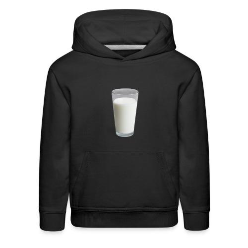 Milk On Shirt - Kids' Premium Hoodie