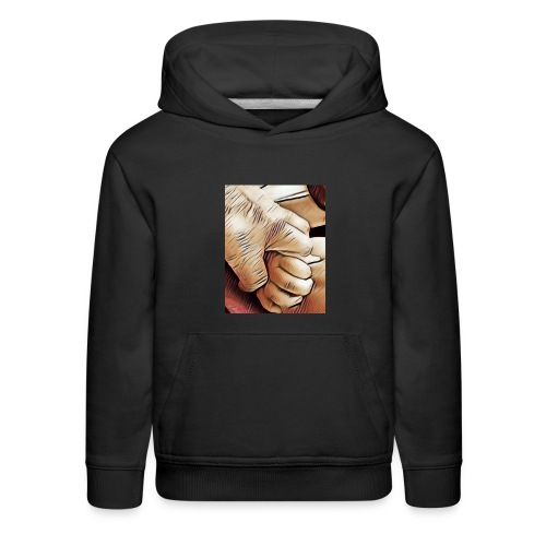 In time of need I'll hold your hand - Kids' Premium Hoodie