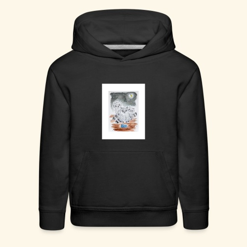Three Little Bandits - Kids' Premium Hoodie