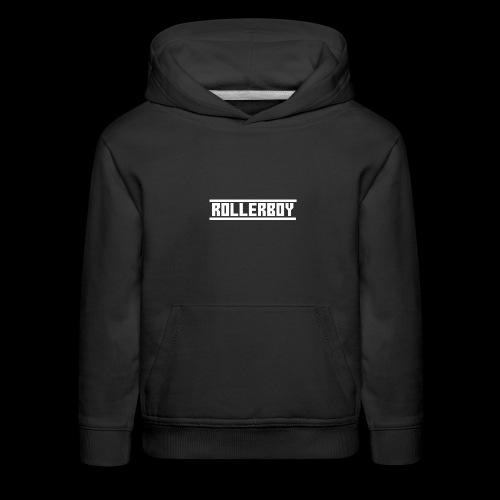 Exclusive ROLLERBOY NAME LABLEh - Kids' Premium Hoodie