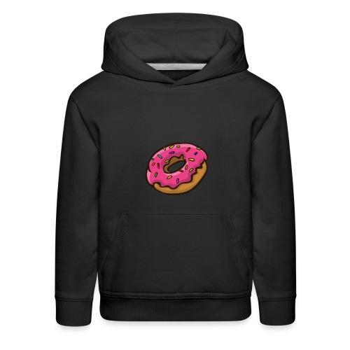 ArticFoxClothing Donut pink icing design - Kids' Premium Hoodie