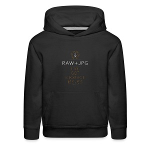 For the RAW+JPG Shooter - Kids' Premium Hoodie