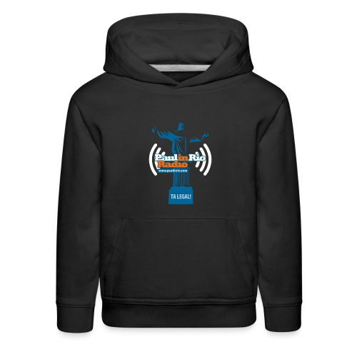 Paul in Rio Radio - The Thumbs up Corcovado #2 - Kids' Premium Hoodie