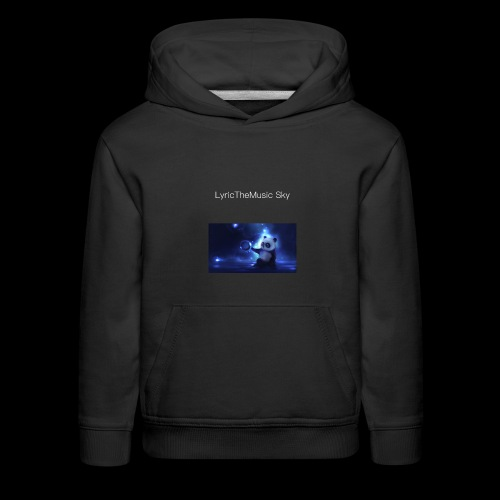 """LyricTheMusic Sky"" MERCH - Kids' Premium Hoodie"