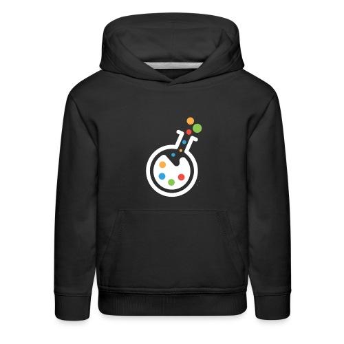 RIMOSA - White Beaker-Only Logo - Kids' Premium Hoodie