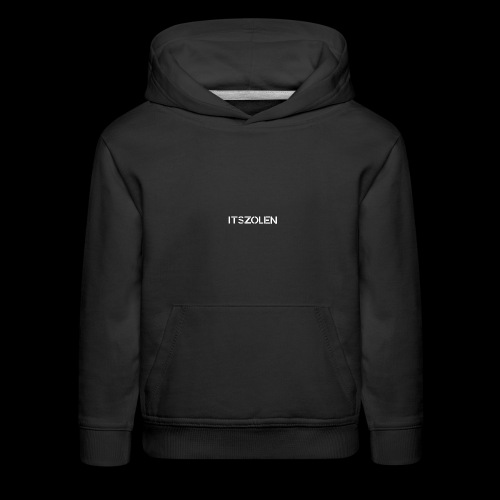 ItsZolen White - Kids' Premium Hoodie