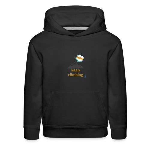Never give up - Kids' Premium Hoodie