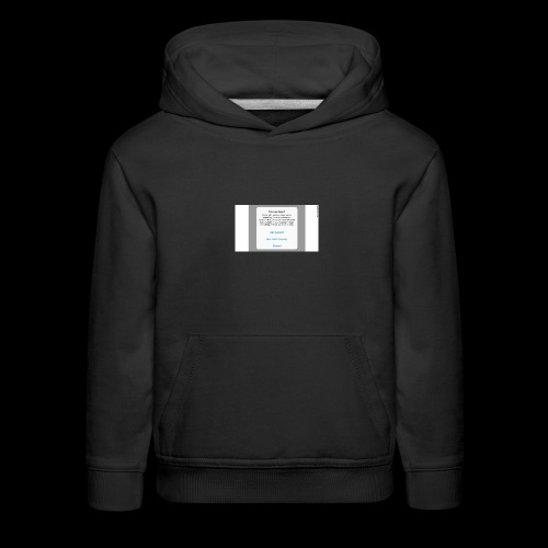 Don't give in - Kids' Premium Hoodie
