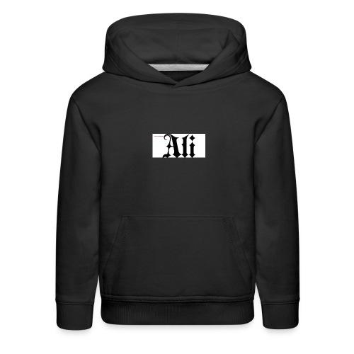 ali name design6 - Kids' Premium Hoodie